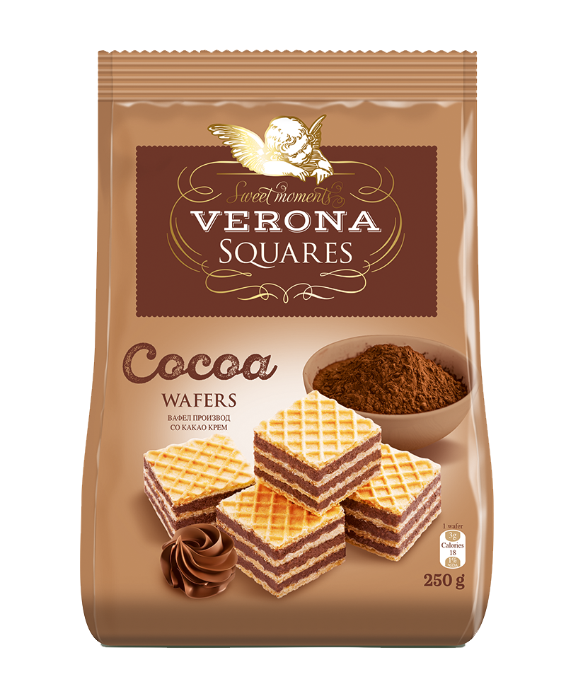 Squares cocoa 250g