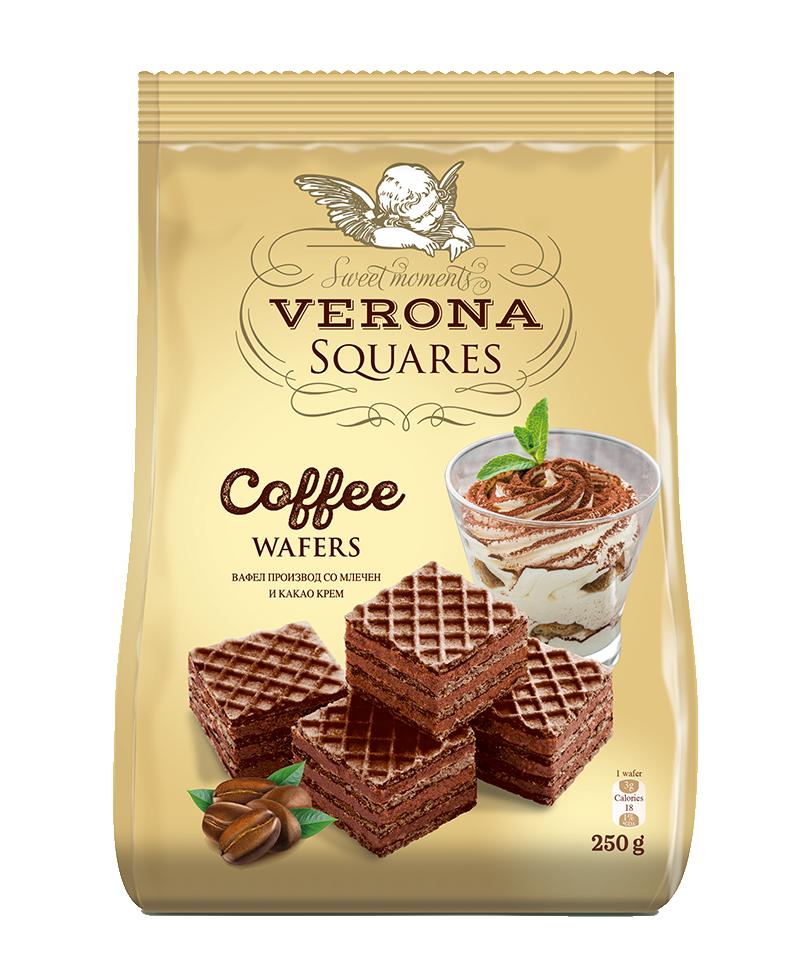 Squares coffee 250g